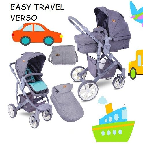 Potovalni otroški voziček Verso